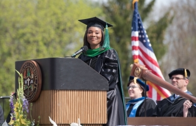 Commencement Speaker Provides Advice for Ashland University Spring Graduates