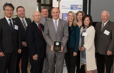AU President Dr. Carlos Campo Receives 'Live United' Award at Ohio Statehouse