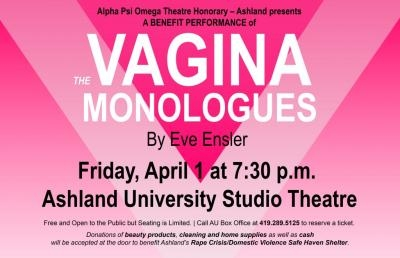Theatre Honor Society Presents Benefit Performance for Domestic Violence Awareness