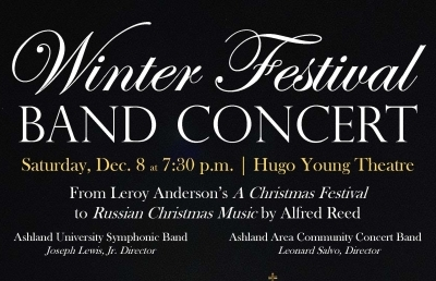 Winter Festival Band Concert Features Classics and Holiday Favorites
