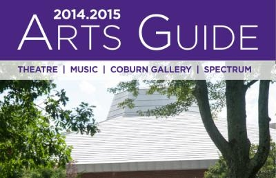Ashland University College of Arts & Sciences Releases 2014-2015 Arts Guide