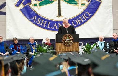 Commencement Speaker Challenges Ashland University Graduates
