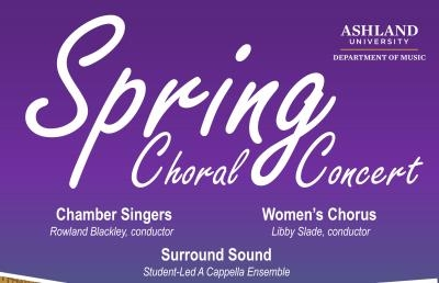 Spring Choral Concert to Feature A Cappella and Folk Music