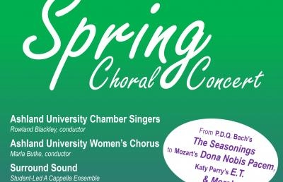 Chamber Singers, Women's Chorus And A Cappella Ensemble Present Final Spring Concert