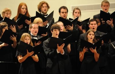 Fall Choral Concert Presents Program of Music in the Spiritual Tradition