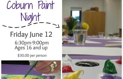 Ashland University Coburn Gallery Sets Paint Night