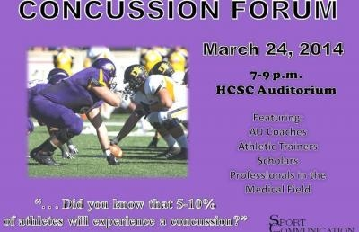 Sport Communication Club to Host Concussion Forum