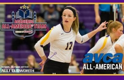 Cudworth Gains Academic All-America, AVCA Honors
