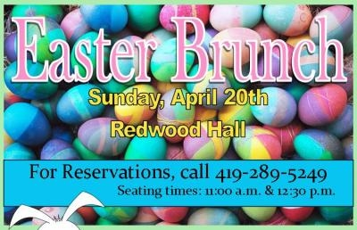 Ashland University to Host Easter Brunch