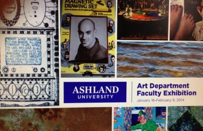 Ashland University Coburn Gallery Sets Faculty Art Exhibition