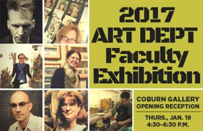 Ashland University Coburn Gallery Sets Art Department Faculty Exhibition