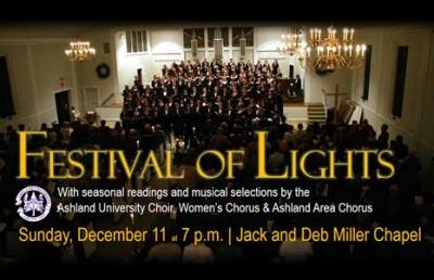 Festival of Lights Holiday Services Set for Dec. 11