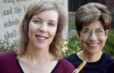 Alison Brown Sincoff (l) and Gail Berenson, The Ohio University Lyric Duo