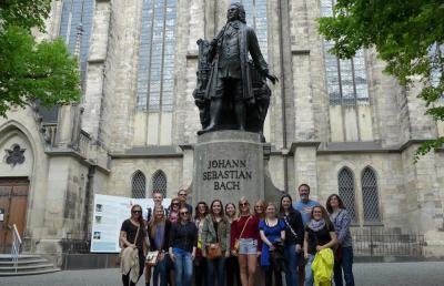 Students Participate in Ashland University's 'AU in Germany' Program
