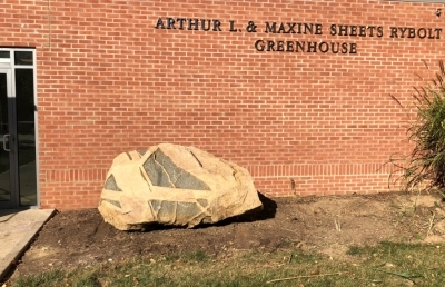 Ashland University Displays Unearthed Boulder on Campus; Ceremony Planned