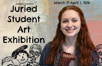 Ashland University Student Art Exhibition Set to Open March 17