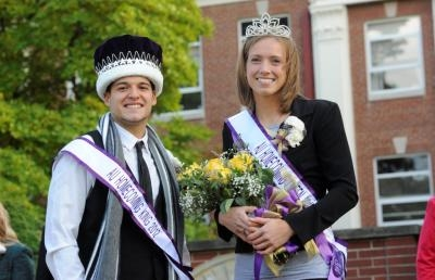 Ashland University Crowns New Homecoming King and Queen