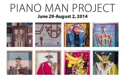 Ashland University Coburn Gallery to Host The Piano Man Project