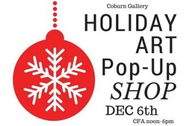 Ashland University Coburn Gallery to Host Holiday Art Pop-Up Shop