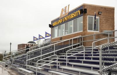 Ashland University's Ferguson Field Gets New Press Box