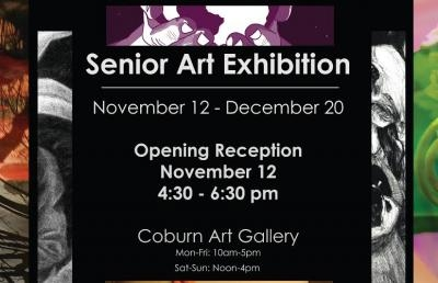 Ashland University Coburn Gallery Hosts Senior Art Exhibition