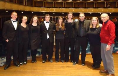 AU Band Members and Director Perform At Severance Hall