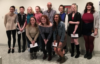 Award Winners Announced for AU Student Art Exhibition
