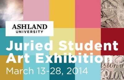 Ashland University Coburn Gallery to Hold Juried Student Art Exhibition