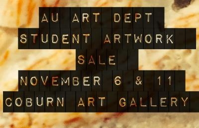 Ashland University Art Department to Hold Student Art Sale