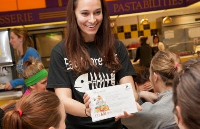 Ashland University Student Dietetic Association Receives Award