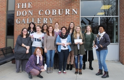 Ashland University Students Receive Awards at 2017 Student Art Exhibition