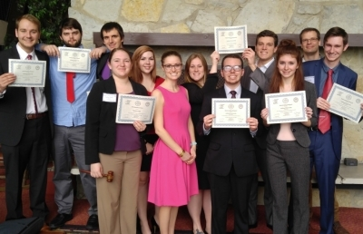 AU Students Win Outstanding Delegation Award at Model Arab League Competition