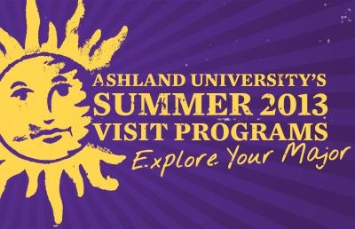 Ashland University Sets Academic-Themed Visit Days for Summer