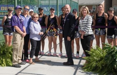 Ashland University Dedicates Karl Tennis Complex
