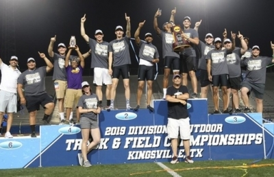 Eagle Men Win Division II Outdoor Team Title
