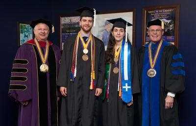Ashland University Honors Co-Valedictorians