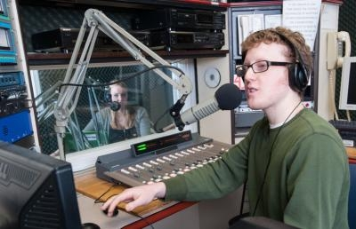 AU Students Change the Campus Radio Station