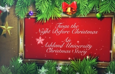 Ashland University Posts 2017 Electronic Christmas Card