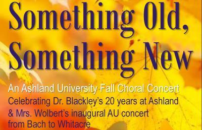 Fall Choral Concert Celebrates Old and New