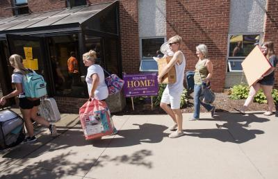 Move-in Day at Ashland University