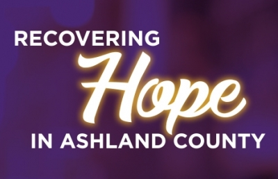 'Recovering Hope in Ashland County' Event Set for Oct. 24