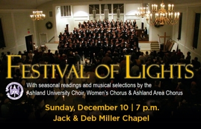 Festival of Lights Holiday Services Set for Dec. 10