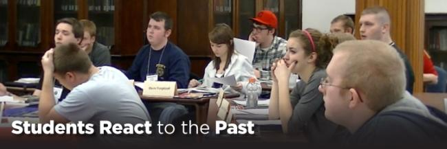 Students in History Classes Participate in 'Reacting to the Past'