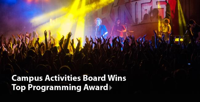 Ashland University Campus Activities Board Takes Top Award
