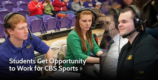 Ashland University Students Get Opportunity to Work with CBS