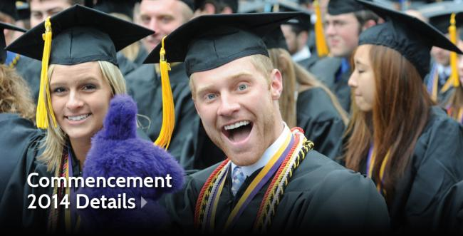 Commencement 2014 to be Held at Miller Stadium on May 10
