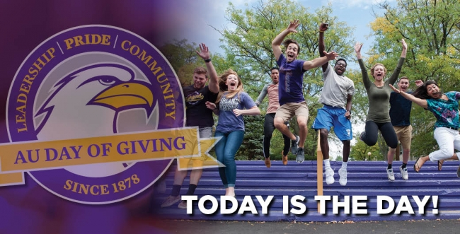 Ashland University Day of Giving, March 23, 2017