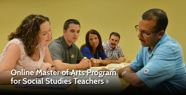 Ashland University Establishes New Master of Arts Program  with Specialization in Teaching American History and Government