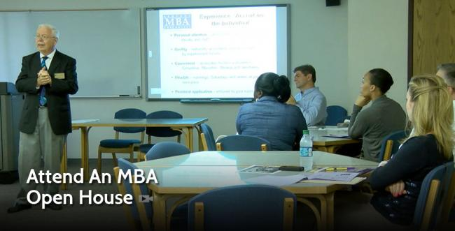 Attend an MBA Open House