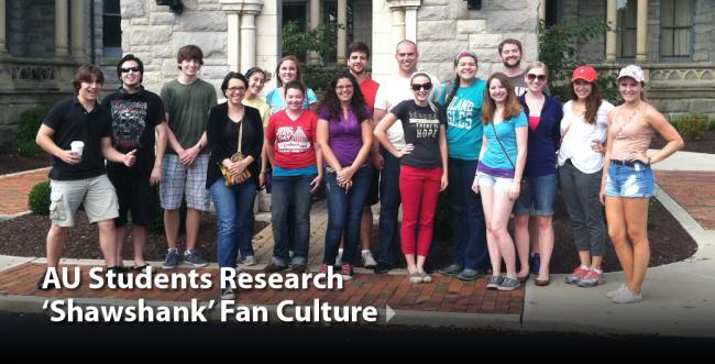 AU Students Research 'Shawshank' Fan Culture